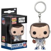 NFL Andrew Luck Pocket Pop! Vinyl Key Chain