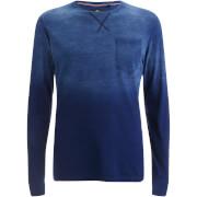 Threadbare Men's Moscow Gradient Sweatshirt - Blue