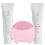 FOREO Holiday Cleansing Collection - (LUNA Mini) Petal Pink