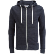Jack & Jones Men's Originals Storm Zip Through Hoody - Navy Blazer
