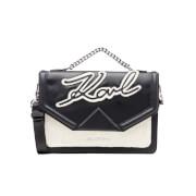 Karl Lagerfeld Women's Holiday Shoulder Bag - Black