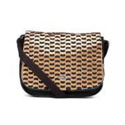 Kipling Women's Earthbeat Medium Cross Body Bag - Woven Tobacco