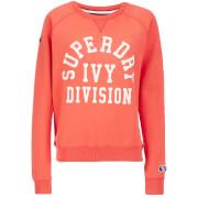 Superdry Women's Tri League Crew Sweatshirt - Tri League Red