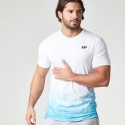Мужская футболка Myprotein Dip Dye – Бирюзовый цвет
