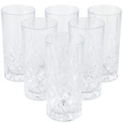 RCR Crystal Melodia Hiball Tumbler Glasses (Set of 6)