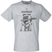 Star Wars: Rogue One Men's Imperial Walker T-Shirt - Grey
