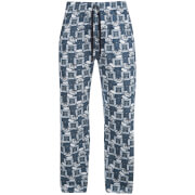 Star Wars Men's Stormtrooper Lounge Pants - Blue