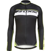 Look Pro Team Long Sleeve Jersey - Black/Fluorescent Yellow