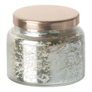 Parlane Vanilla Glass Votive - Silver (6 x 7cm)
