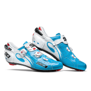 Sidi Wire Carbon Air Vernice Cycling Shoes - Blue Sky/White