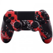 Custom Controllers PlayStation 4 Controller - Red Subterfuge