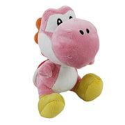 """Super Mario 6"""" Pink Yoshi Plush"""