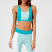 Asics Running Women's Colour Block Bra - Lake Blue - XS - Blue