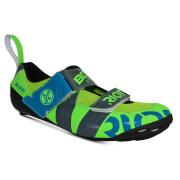 Bont Riot TR+ Road Shoes - EU 40.5 - Green/Grey