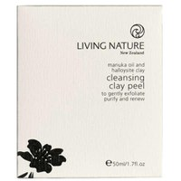 Living Nature Cleansing Clay Peel 50ml