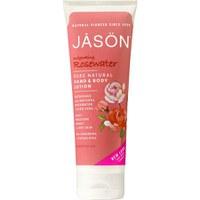 JASON Invigorating Rosewater Hand & Body Lotion 227g