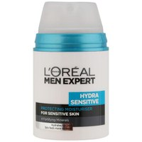 Crema hidratante Men Expert Hydra Sensitive 24Hr de L´Oréal  (50 ml)