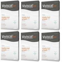 Viviscal Man Hair Growth suppléments anti chute de cheveux (6 x 60) (quantité 6 mois)