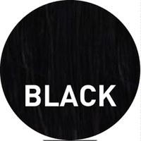 Sleep In Rollers Bun Ring Plait Thin - Black