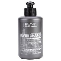 Redken For Men Silver Charge Shampoo (für ergrautes und blondiertes Haar) 300ml