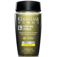 Shampooing traitant quotidien Kerastase Homme Capital Force (250ml)