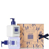 L'Occitane Lavender Hand Wash and Lotion Duo (2 x 300ml)