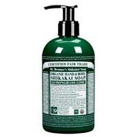 Jabón de manos orgánico de citronela Dr. Bronner Organic Shikakai (356ml)