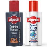 AlpecinAnti-Schuppen- und Koffein-Shampoo Duo