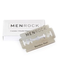 Men Rock Double Edged Razor Blades (5 Blades)