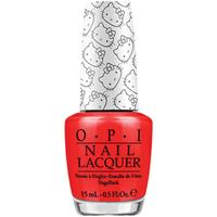 OPI Hello Kitty Collection Nail Varnish - 5 Apples Tall (15ml)