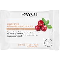 PAYOT Lingettes Demaquillantes 3-en-1 – tous type de peaux.