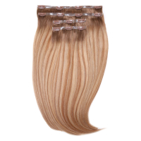 "Beauty Works Jen Atkin Invisi-Clip-In Hair Extensions 18"" - Santa Barbra JA1"