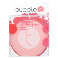 Bubble T Macaroon Lip Balm - Hibiscus & Acai Berry Tea