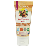 Badger Broad Spectrum Sunscreen SPF 30 87ml - Unscented