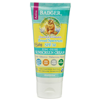 Badger Broad Spectrum Sunscreen SPF 30 87ml - Baby