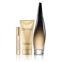 DKNY Cashmere Black Holiday Eau de Parfum 100ml, Body Lotion and 10ml Rollerball Set