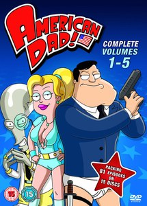 American Dad Seasons 1-5 Box Set
