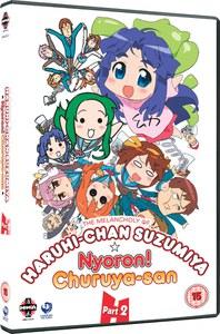 The Melancholy of Haruhi-Chan Suzumiya and Nyoron! Churuya-san Verzameling 2
