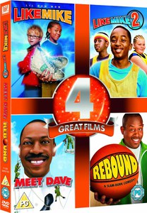 4 Great Films - Like Mike 1 and 2 / Rebound / Meet Dave