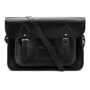 The Cambridge Satchel Company 13 Inch Classic Leather Satchel - Black