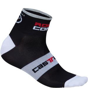 Castelli Rosso Corsa 6 Cycling Socks - Black