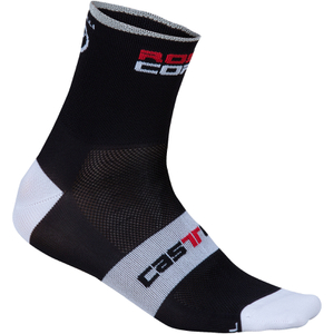 Castelli Rosso Corsa 9 Cycling Socks - Black