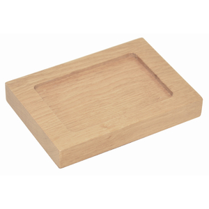 Wireworks Mezza Natural Oak Soap Dish