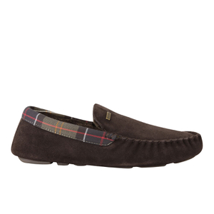Barbour Men's Monty Suede Slippers - Brown