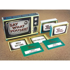 Say What You See TV! Spiel