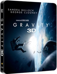 Gravity 3D - Limited Edition Steelbook (Includes 2D Version)