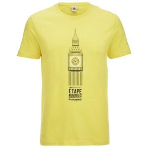 Le Coq Sportif Tour de France N14 Short Sleeved T-Shirt - Yellow