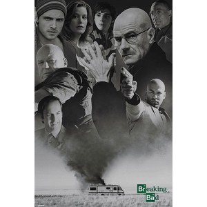 Breaking Bad Up In Smoke - Maxi Póster - 61 x 91,5cm