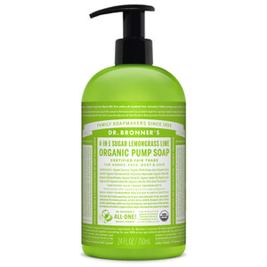Dr. Bronner Organic Shikakai Lemongrass Lime Hand Soap (710ml)