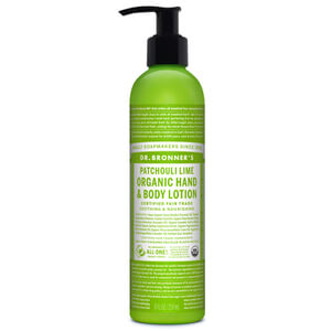 Dr. Bronner Organic Patchouli Lime Lotion (236ml)